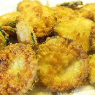 Coconut Fried Zucchini.