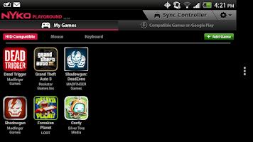 Screenshot of Nyko Playground