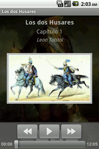 Audiolibro - Los dos Husares - screenshot