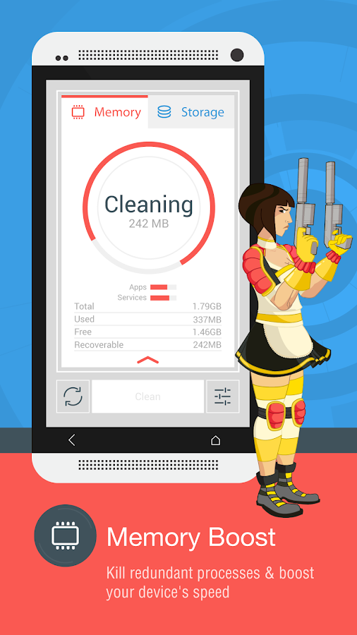 The Cleaner - Speed up & Clean - screenshot