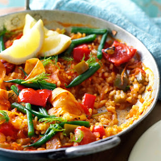 Fennel, Tomato And Red Pepper Paella