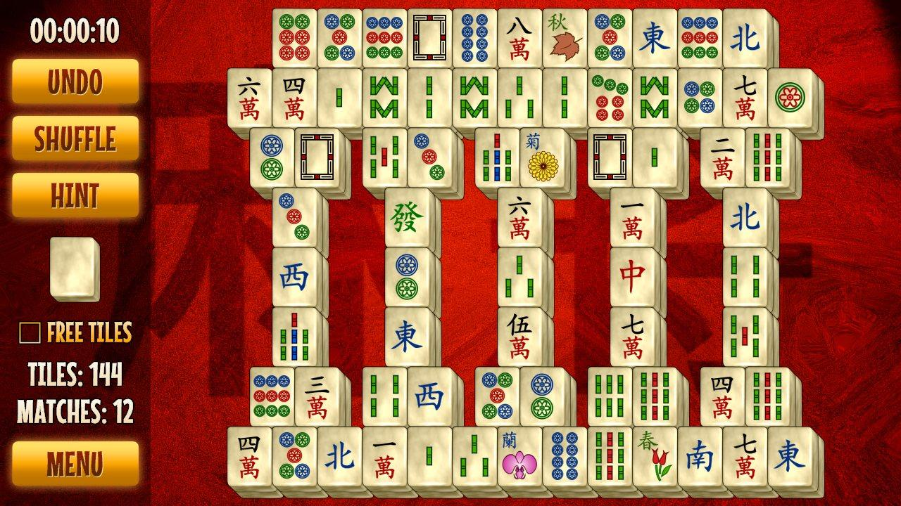 classic 4 player mahjong