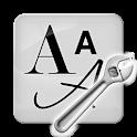 フォントマネージャー logo