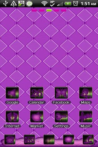 THEME - Disco Purple