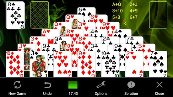 Pyramid Solitaire +- screenshot thumbnail