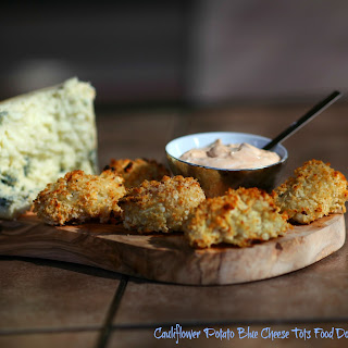 Cauliflower Potato Blue Cheese Tots