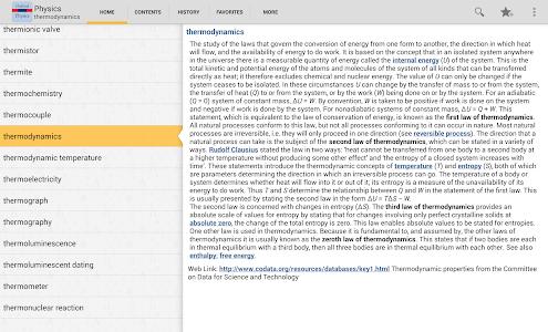 Oxford Dictionary of Physics T v4.3.126