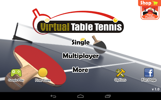 Virtual Table Tennis  screenshots 16