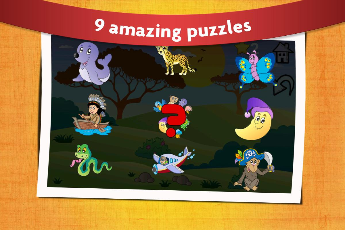 Animal Shape Puzzles Kids 2- screenshot