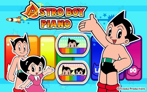 Astro Boy Piano Screenshot