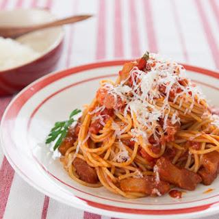 Spaghetti Amatriciana Recipe