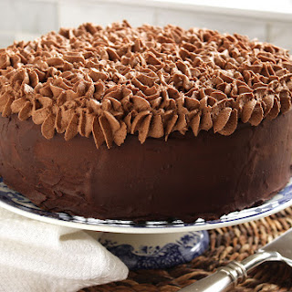 Death By Chocolate Layer Cake.