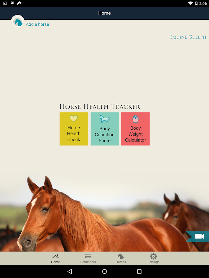 Horse Health Tracker- screenshot