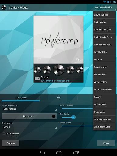 Widgets Kit for Poweramp  screenshots 1