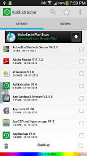 Extract .apk files from your Android - Mauweb.net