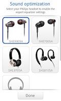 Screenshot of Philips Headset
