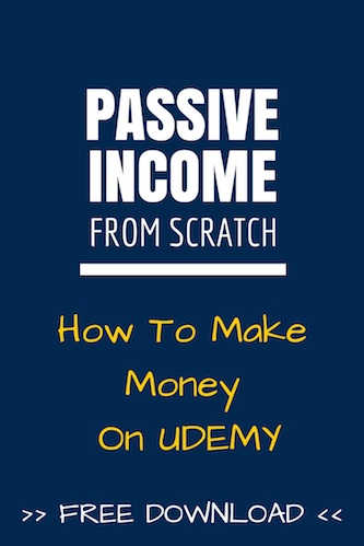 IIP063: Passive Income From Scratch: How To Make Money On Udemy