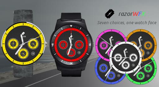 razorWFX Sport Watch Face