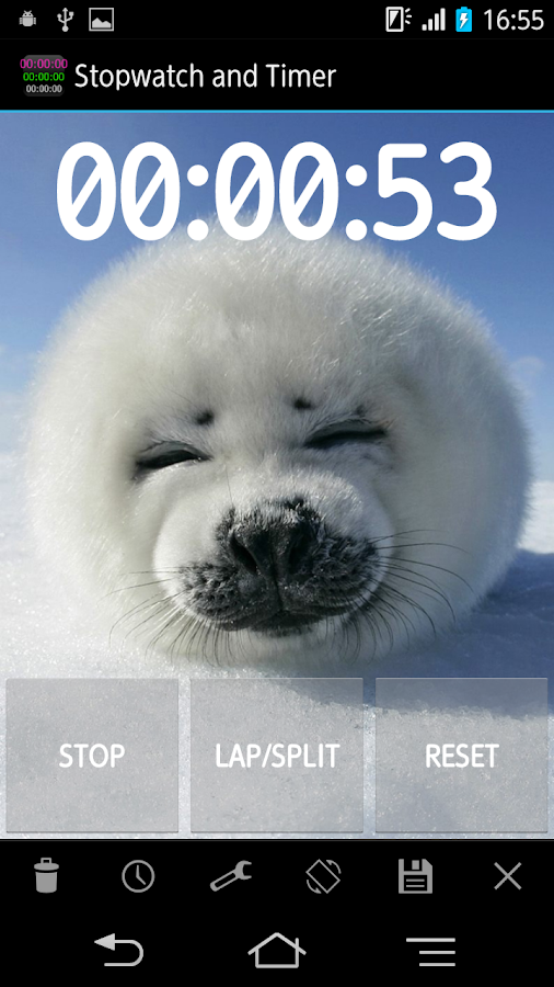 Simple Stopwatch & Timer free - screenshot