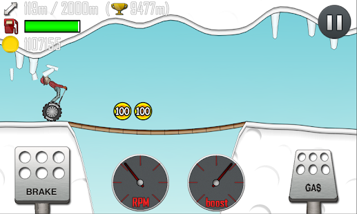 Hill Climb Racing: miniatura de captura de pantalla
