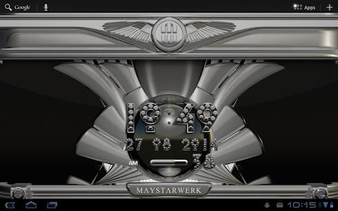Digi Clock Widget Silver Diamond v2.70 [Paid] APK 7