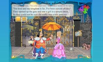 Screenshot of Princess and Pea Book for Kids