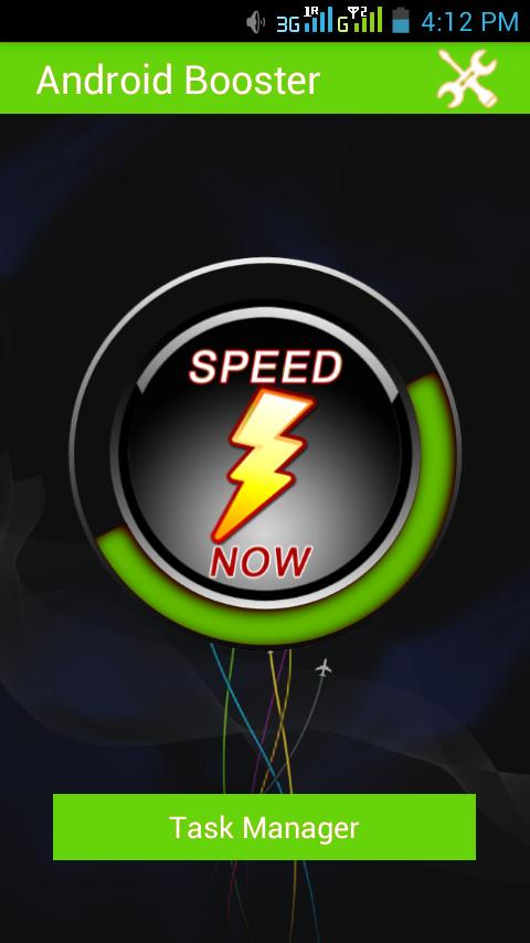 Mobile Speed Booster Advanced - screenshot