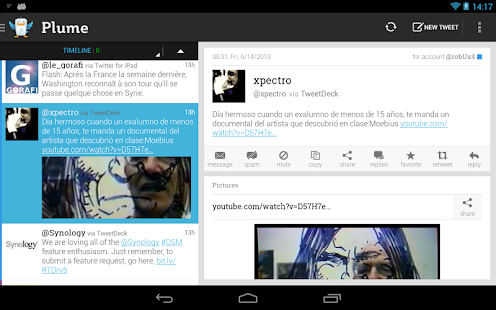Plume for Twitter Screenshot 19