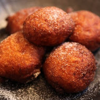 Banana and Coconut Fritters.