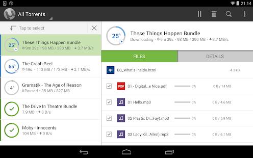 µTorrent® Pro - Torrent App Screenshot