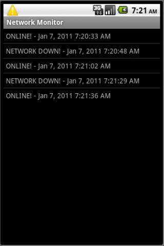 Network Monitor- screenshot