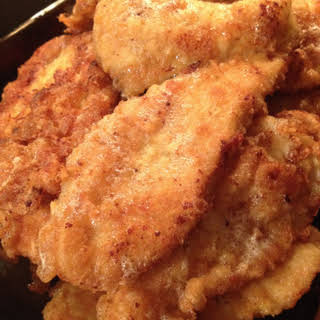 Chicken Breast Schnitzel.