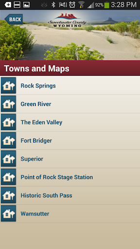 Tour Sweetwater County App