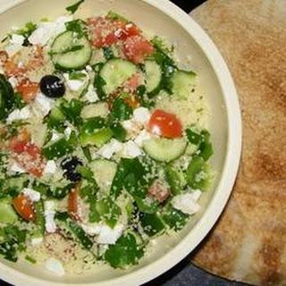 Party-Size Greek Couscous Salad