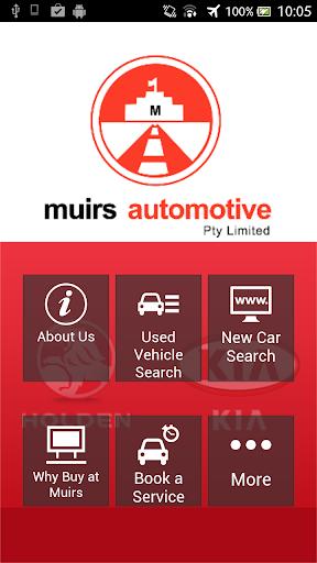 Muirs Automotive Holden