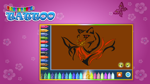 Coloring Book Tattoo 1.8.0 screenshots 13