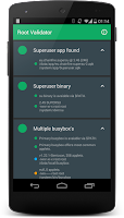 Screenshot of Root Validator