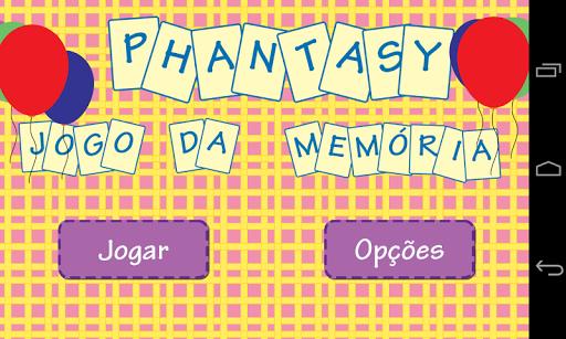 Phantasy Jogo da Memoria