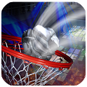 Basketball Paper Flick Pro icon