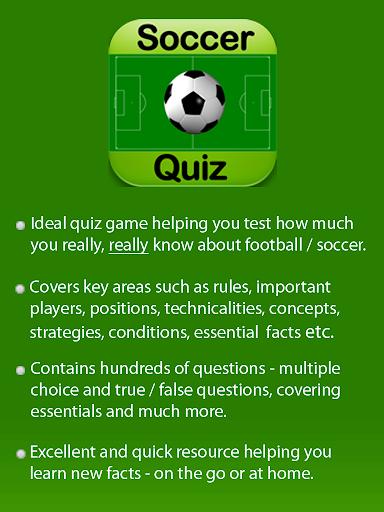 Football Soccer Trivia Quiz