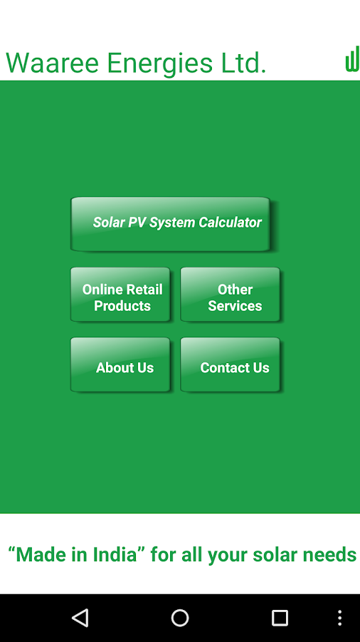 PV Solar Calculator by Waaree- screenshot