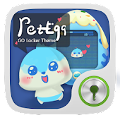 Pet Egg GO Locker Theme
