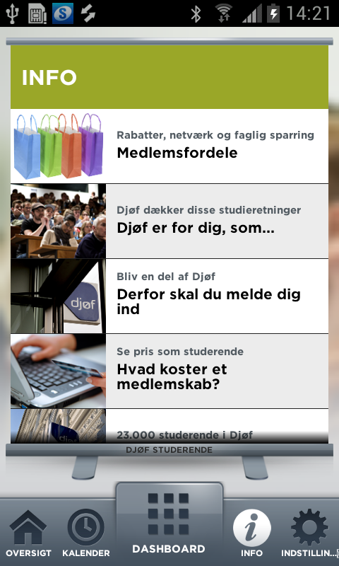 STUDERENDE - screenshot