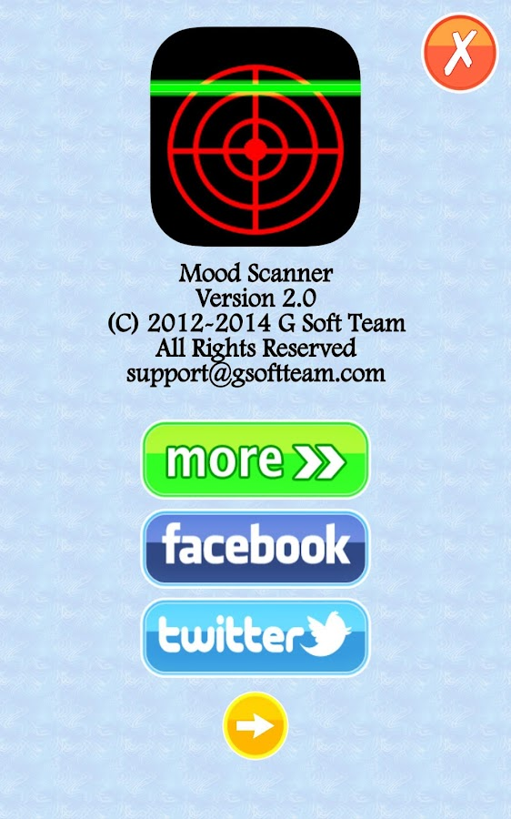 Mood Scanner Ultimate - screenshot