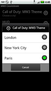 MW3 Live Wallpaper - screenshot thumbnail