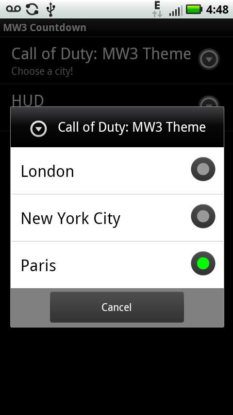 MW3 Live Wallpaper - screenshot