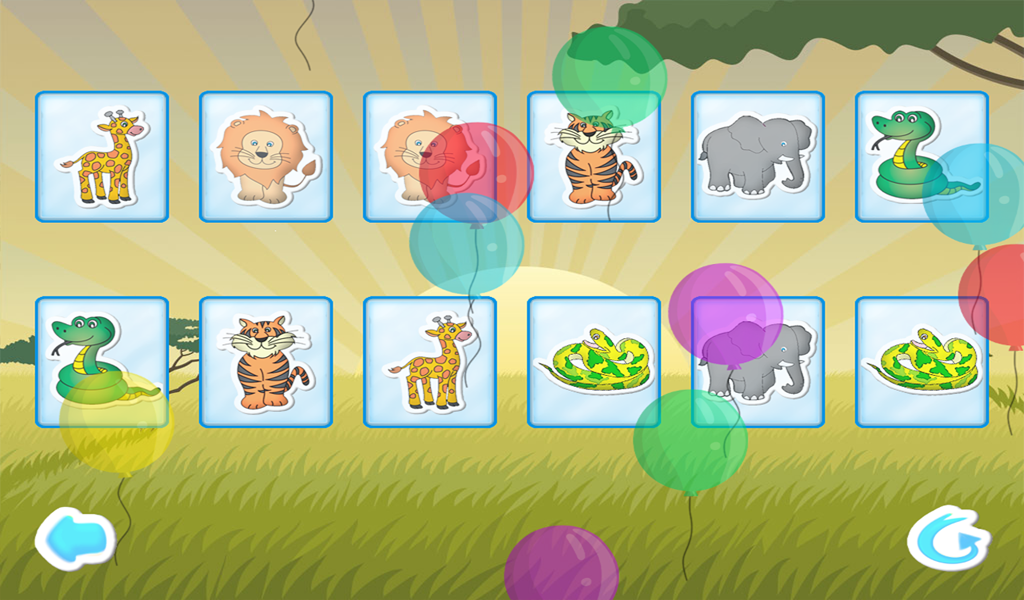 Baby Memory - screenshot