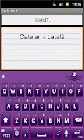 Screenshot of SlideIT Catalan Valencian Pack