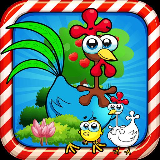 可爱动物的差异游戏 解謎 App LOGO-APP試玩