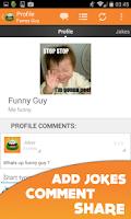Screenshot of Funny Jokes Live